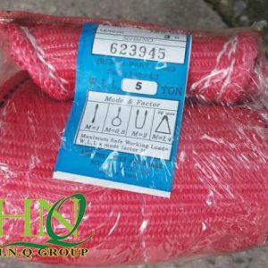 cap vai cau hang 5 tan 3 met 300x300 - Cáp Vải Cẩu Hàng Hàn Quốc 5 tấn (bản rộng 125mm)