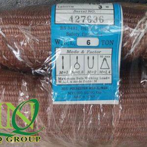 cap vai cau hang 6 tan 3 met 300x300 - Cáp Vải Cẩu Hàng Hàn Quốc 6 tấn (bản rộng 150mm)