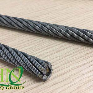 Cáp Thép Thang Máy 8x(S)19+FC 10mm (Phi 10)