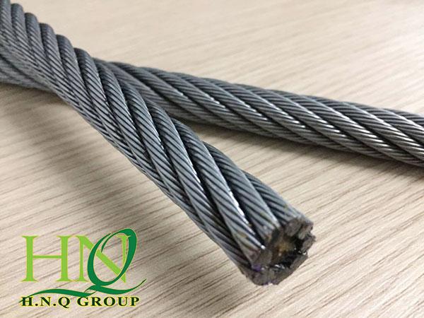 Thông số của dây cáp thép inox