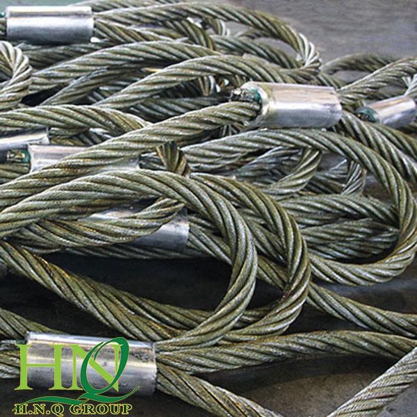 Ứng dụng dây sling cáp thép trong công nghiệp nặng
